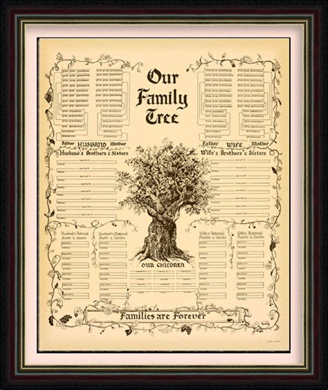 family genealogy book template time family history chart customer service contact