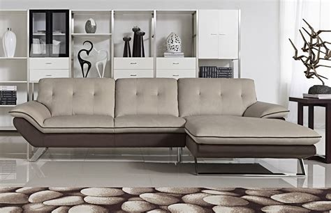 modern fabric sectional lola modern fabric sectional sofa