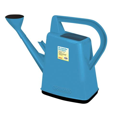 blue i can shop bosmere 2 6 gallon blue plastic watering can at lowes
