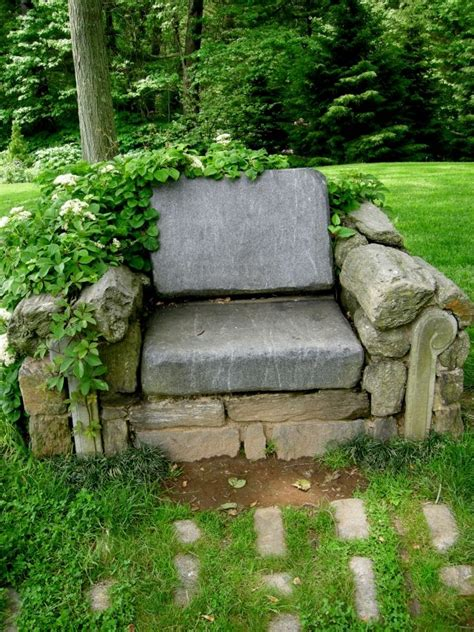 Steins Garden by Garten Skulpturen Selber Machen M 246 Bel Stein Sessel