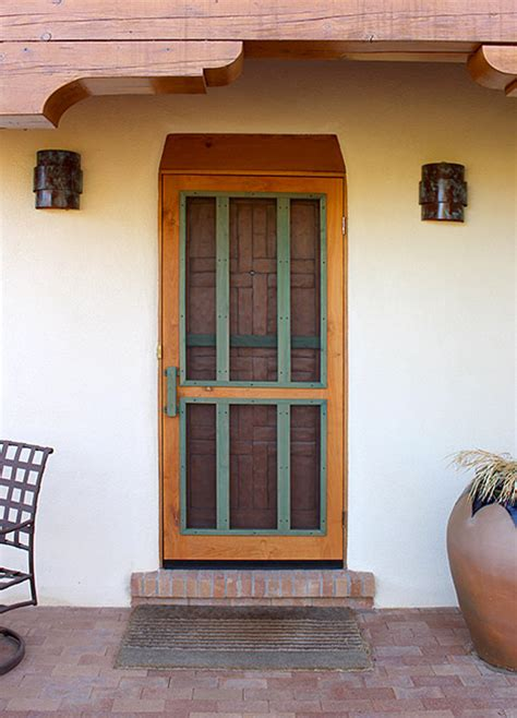 the chaco screen door custom screen doors santa fe