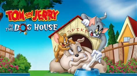 tom and jerry dog house tom and jerry in the dog house spike wallpaper for desktop 1920x1080 wallpapers13 com