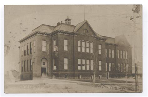 plymouth michigan high school 1908 rppc plymouth high school plymouth mi michigan ebay