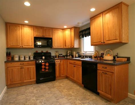 Green Kitchen With Oak Cabinets image result for http villcab files 2011 08