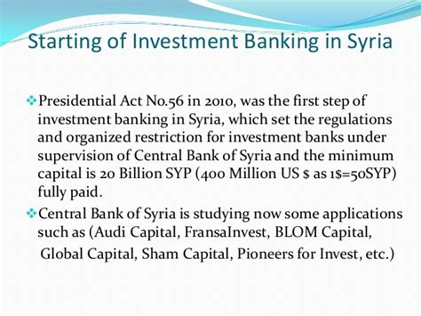 audi bank syria investment bank
