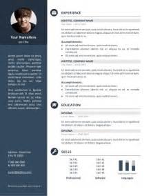 Plantilla De Curriculum Word 2017 Doc Un Exemple De Mod 232 Le De Cv 2017 Gratuit Word