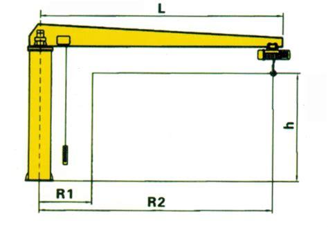 pedestal jib crane bzd pedestal jib crane column swing lever crane column