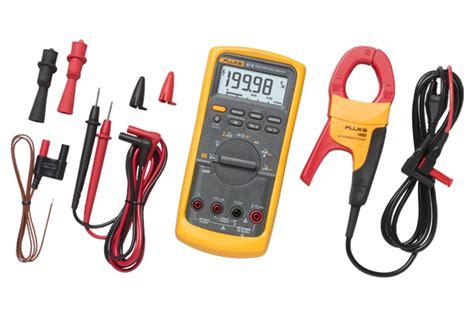 Multitester Fluke 87 fluke 87v imsk industrial multimeter service combo kit