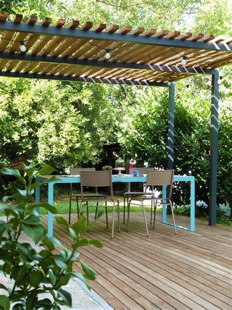 protege table de jardin les 25 meilleures id 233 es de la cat 233 gorie pergola bois sur pergola tonnelle pergola