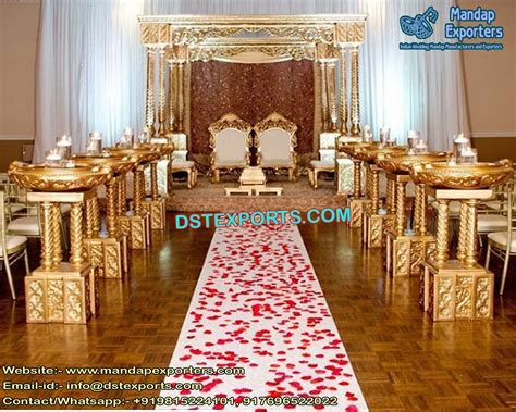 This is one of the Top Wedding Mandap offered by DST EXPORTS