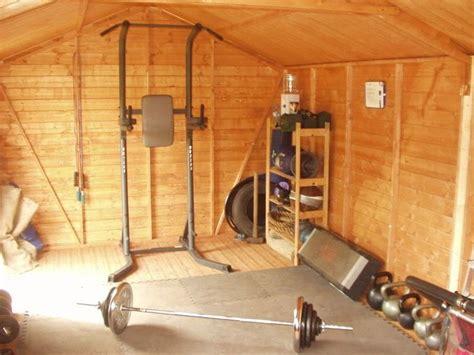 turn  backyard shed   gym gym shed backyard