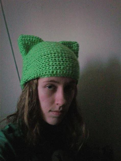 cat hat crochet pattern crochet cat hat by yikamura on deviantart