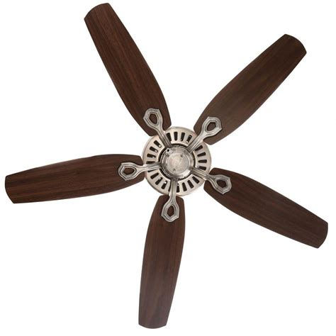 builder elite ceiling fan 53241 builder elite 52 in brushed nickel ceiling