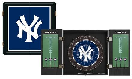 ny yankees dart cabinet set new york yankees extreme fan