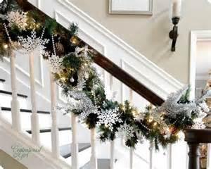 Christmas Decorating Ideas For Banisters Weihnachtsdeko Basteln Mit Festlichen Tannen Girlanden