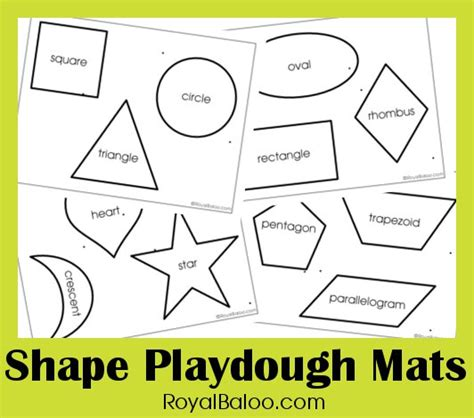 Shape Playdough Mats by Free Shape Play Dough Printables Free Homeschool Deals