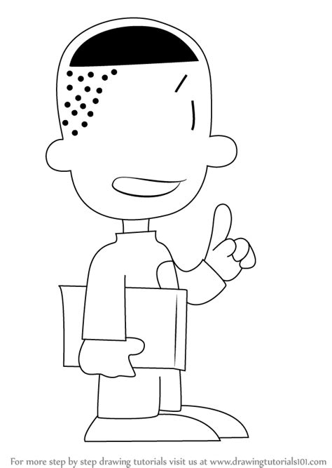 How To Draw A Big Step By Step learn how to draw teddy from big nate big nate step by