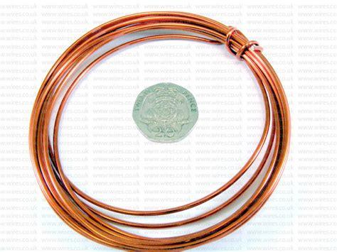 orange colours wires co uk 3 metre coil 2mm orange colour aluminium craft