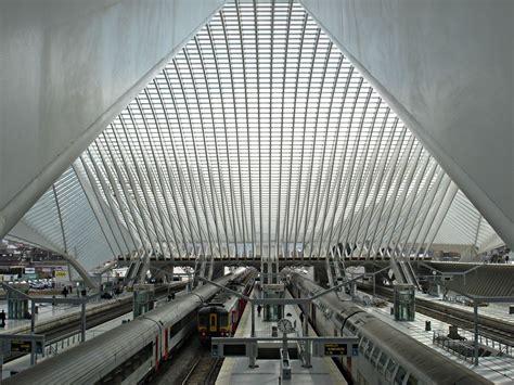 liege station li 232 ge guillemins railway station santiago calatrava