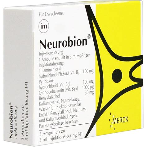 Vitamin Neurobion Neurobion Vitamin B1 B6 B12 Ullen 3x3ml Ullen