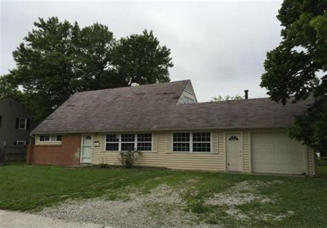 Moon Garage Indianapolis by 4072 Barnor Dr Indianapolis In 46226 Foreclosed Home
