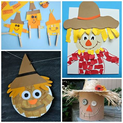 Paper Bag Scarecrow Craft For Preschoolers - best 25 scarecrow crafts ideas on november