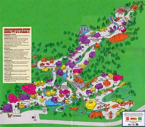 dollywood map map of pigeon forge map travel holidaymapq
