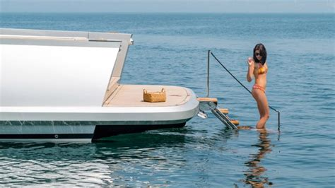 dream boat and water alen 55 yacht is a weekend cruiser s dream boat
