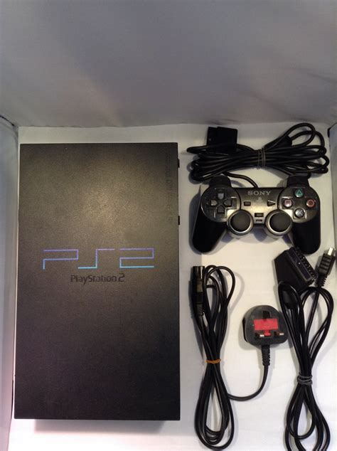 playstation 2 console sony playstation 2 ps2 console black retroplayers