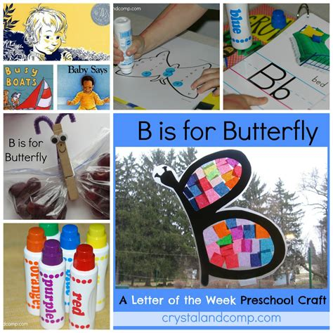 activities for a letter of the week crafts