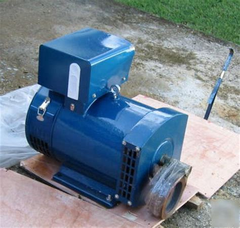 rubber st generator free new 3 kw st generator free coupling or pulley