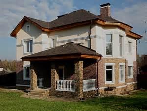 Фото домов с искусственным камнем фото