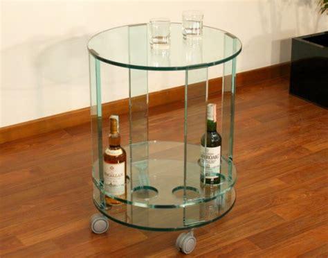 carrello porta liquori arredamento carrello portaliquori in vetro porta liquori