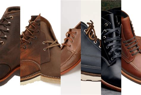 7 Pairs Of Shoes by 7 Leather Boots That Complement Denim