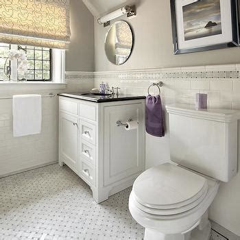 Gray And Purple Bathroom by Benjamin Smoke Embers Design Ideas