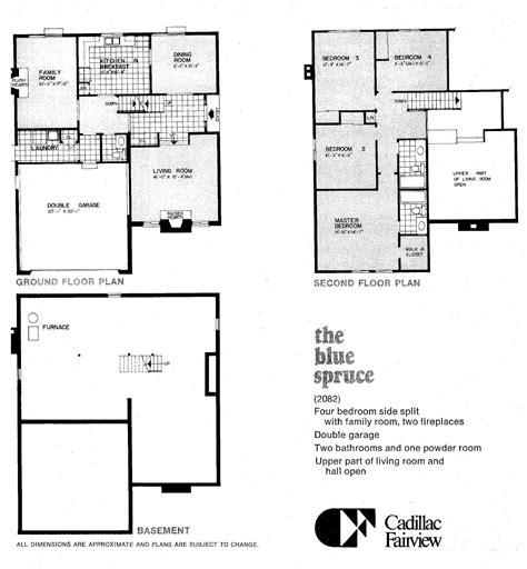 line homes floor plans mid century modern and 1970s era ottawa favourite plans kanata