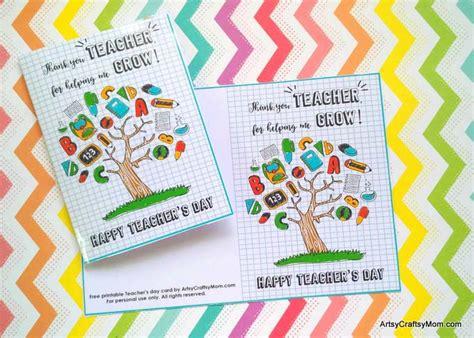 printable teachers day card free printable teacher appreciation cards
