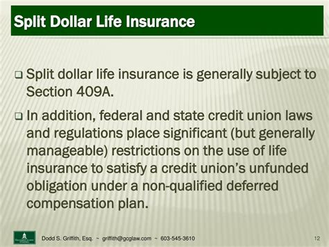 Section 409 A by Ppt Non Qualified Deferred Compensation For Credit