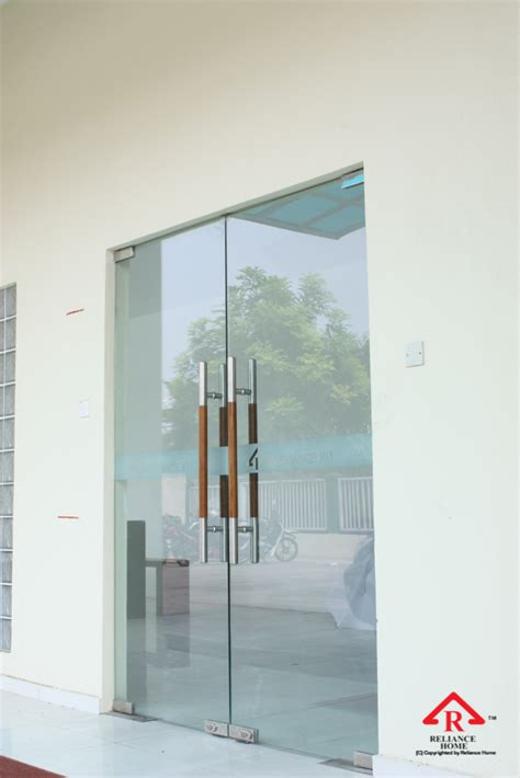 swing door glass swing door reliance homereliance home