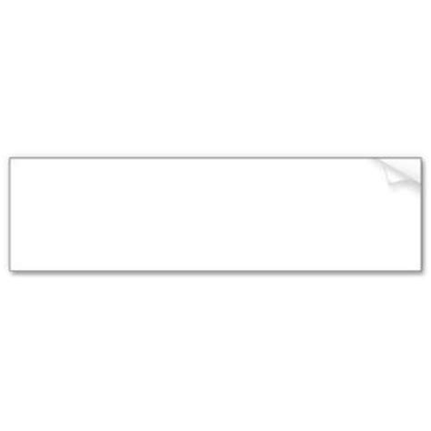 bumper sticker templates blank bumper sticker template from from zazzle epic wishlist