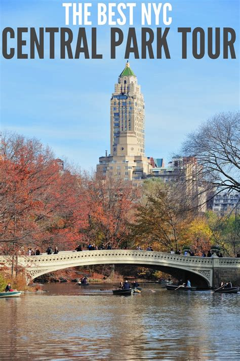 best nyc tour central park tour tour the new york city park