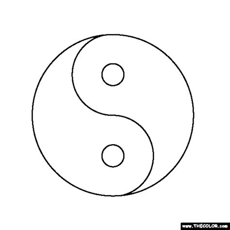 printable coloring pages yin yang free ying yang coloring pages