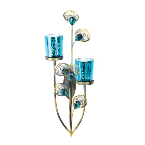 Buy Sconces Wholesale Peacock Plume Wall Sconce Buy Wholesale Candle