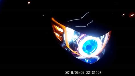 Lu Led Motor Mio Soul mio soul i 115 aes projector dual color led lining hazzard parklight