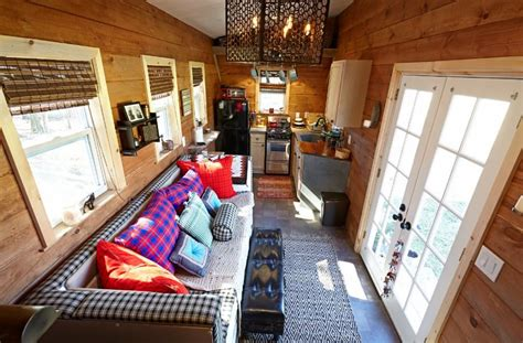 interiors of tiny homes married couple s 276 sq ft gooseneck tiny house