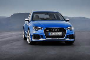 Audi Rs3 Horsepower 2017 Audi Rs3 Sportback Revealed Has Same 400 Hp Engine