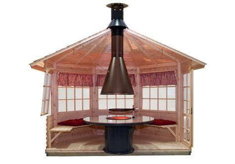 Garden Summer Houses Sheds - bbq hut seattle 9 5m 178 55mm 3 6 x 3 3 m