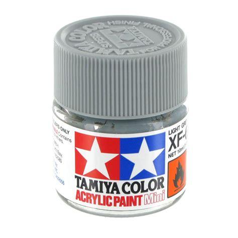acrylic paint grey tamiya colour acrylic paint xf 66 light grey 10ml hobbycraft