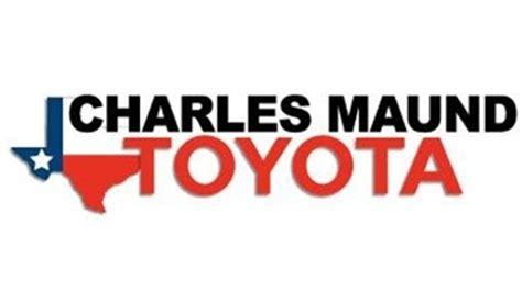 Charlesmaund Toyota Charles Maund Toyota Tx