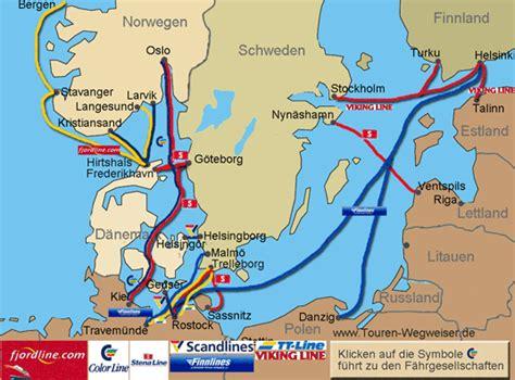 Von Hamburg Nach Dänemark Mit Dem Auto by Radtour In Skandinavien Anreise Nach Norwegen Finnland